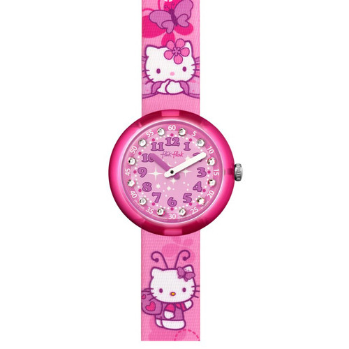 🕮 Swatch Hello Kitty Buterfly ZFLNP005 d2a305cfff6